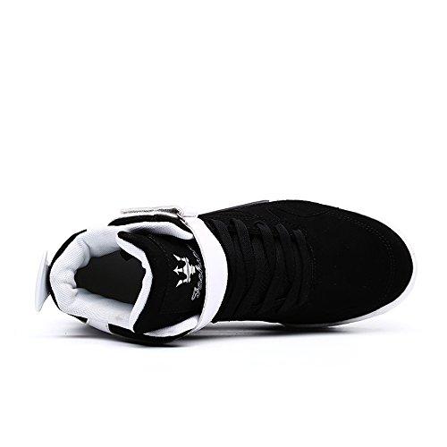 Black Marée Chaussures Sneaker Baskets Street Hip Hop Homme Mode Fzuu Occasionnelles ZnPF8wvqcc