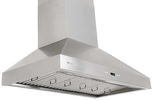 XtremeAir PX03-W36, 36'' wide, LED lights, Baffle Filters W/ Grease Drain Tunnel, 1.0mm Non-Magnetic Stainless Steel Seamless Body, Wall Mount Range Hood by XtremeAIR (Image #5)