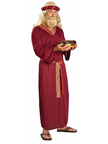 Forum Novelties Men's Biblical Times Wise Man Costume, Burgundy, One Size]()