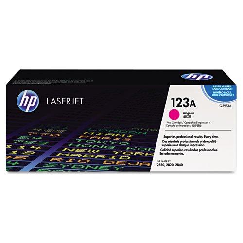 HP - HP 123A, (Q3973A) Magenta Original LaserJet Toner Cartridge Q3973A (DMi EA