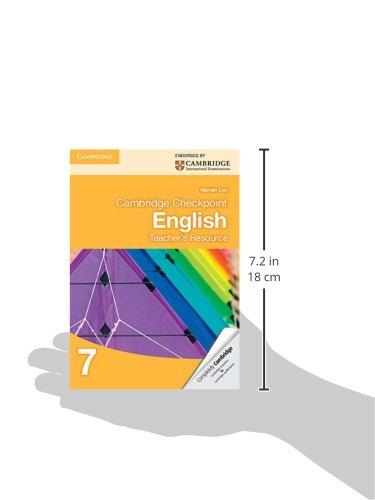 Cambridge Checkpoint English Teacher's Resource 7 (Cambridge ...