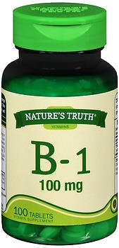 Nature's Truth B-1 100 mg - 100 Tablets, Pack of 5
