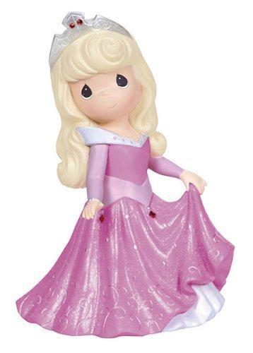 Precious Moments Girl As Princess Aurora - Rotating Musical Figurine