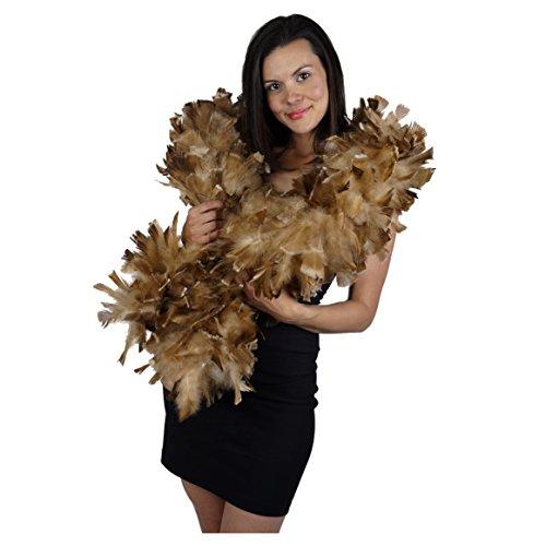 Zucker Feather (TM) - Turkey Ruff Boa Bleached Bronze - Beige
