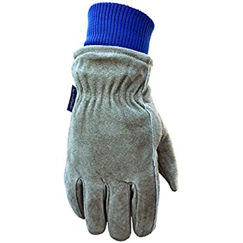 Leather Winter Work Gloves, 100-gram Thinsulate Insulation