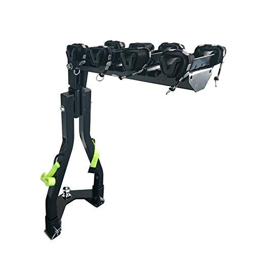 CyclingDeal A Frame Twin Pole 4 Bike Bicycle Tow Ball Car Rack (Bike Pole Storage Rack)