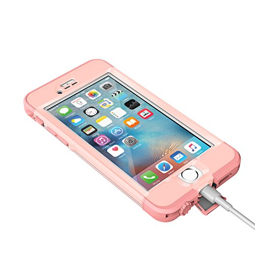 Lifeproof NÜÜD SERIES iPhone 6s ONLY Waterproof Case - Retail Packaging - FIRST LIGHT (PINK JELLYFISH/CLEAR/SEASHELLS PINK) by LifeProof (Image #5)