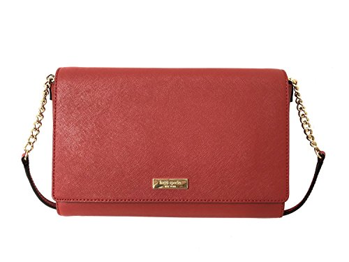 Tilden Crossbody York Place New Handbag Kate Spade Pillbox Leather Red Alek xCPqUn0t0w