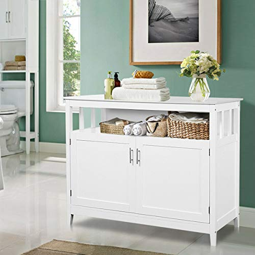 Costzon Kitchen Storage Sideboard Dining Buffet Server