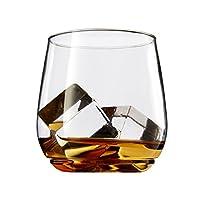 TOSSWARE 12oz Tumbler Jr - Cóctel de plástico reciclado para cóctel y whisky - JUEGO DE 12 - vasos de whisky sin tallos, a prueba de golpes y sin BPA