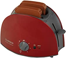Theo Klein 9578 Tostadora Bosch, Con función mecánica de tostado,incluye 2 rebanadas de pan de juguete, a partir de 3 años, 15 cm x 12 cm 10,5 cm: Amazon.es: Juguetes y juegos