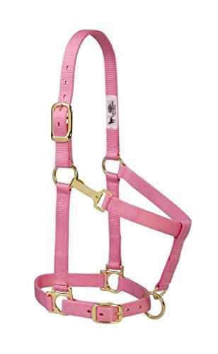 Weaver Leather Basic Adjustable Nylon Halter, Pink, 1