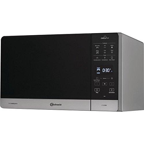 Bauknecht MW 49 SL - 5in1 Mikrowelle - inkl. Grill, Heißluft und CrispFryTM - Heißluft Fritteusen Funktion, 25L