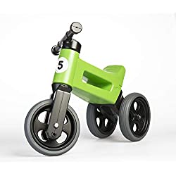 PlayMonster Free Wheelin' Rider Convertible Balance Bike, Green