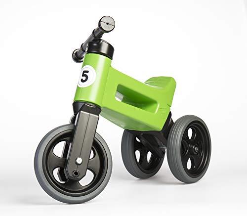 PlayMonster Free Wheelin' Rider Convertible Balance Bike, Green