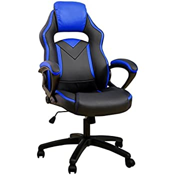 Merax Office Chair Computer Gaming Desk Chair Racing Style High Back Racing Chair