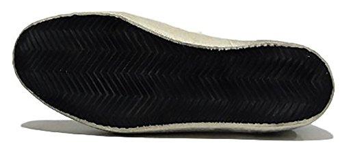 GOLDEN GOOSE Zapatillas de Tela Para Hombre Zebra