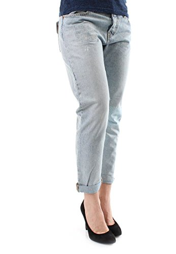 Patch 501 Jeans Clair Tapered Femme Bleu Levi's Sunset Customized 577xqXUO