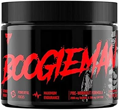 Trec Nutrition BOOGIEMAN Pre-Workout Booster Trainingsbooster Fitness Bodybuilding (300g Bubble Gum Flavor)