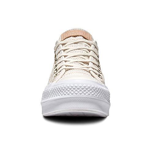 Star Baskets All Pour Taylor Lift Chuck 7280 Converse Autocollants Avec En Blanc Espadrilles Cultz Femmes Toile FWznWTdqw