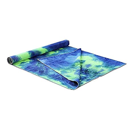 KNOSSOS Unique Tie Die Printing Rectangle Yoga Mat Non Slip ...