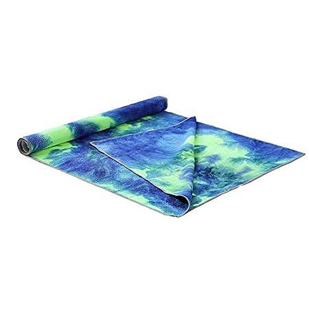 KNOSSOS Unique Tie Die Printing Rectangle Yoga Mat Non Slip ...