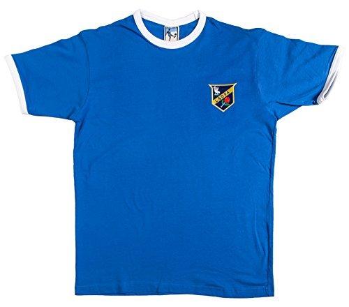 Retro Everton 1886 Fútbol camiseta nueva tallas S-XXL Logotipo Bordado - algodón, Azul, 100% algodón, Hombre, Medium: Amazon.es: Ropa y accesorios