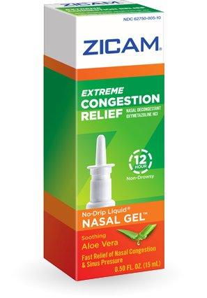 Zicam Extreme Congestion Relief Nasal Gel 0.5 Oz (Pack of - Ounce Gel 0.5