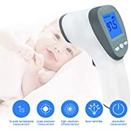 Infrared Forehead Thermometer Non-Contact Electronic Digital Temperature Gun for Baby Kids and Adults