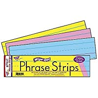 30 x Large Wipe-off, Reusable Writing Practice Strips for Classrooms