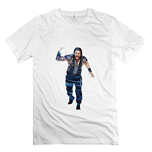 StaBe Men Roman Reigns T-Shirt Unique Funny XXL White