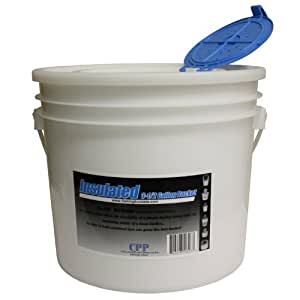 Challenge 50327 Insulated Bait Bucket, 3.5 Gallon, with Lid