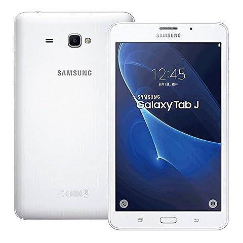 Samsung Galaxy Tab J 7.0 SM-T285YZ 8GB 7.0-inch 4G LTE + Wi-Fi Tablet PC - International Stock No Warranty (Samsung Galaxy Phone 7inch)