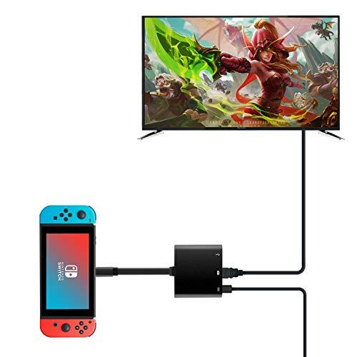 Rytaki HDMI Type C Hub Adapter N...