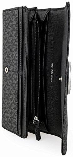 Michael Kors Fulton Signature Carryall Wallet - Black - 32S7SFTE3B-001 by MICHAEL Michael Kors (Image #4)