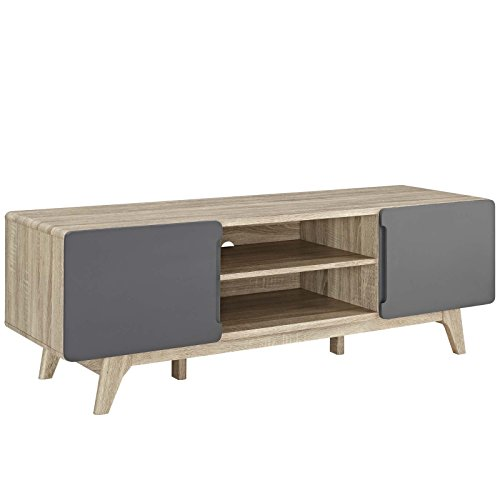 Modway  Tread Mid-Century Modern 59 Inch TV Stand, 59