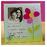Abbey Press Mom and I Glass Photo Frame Retired - Inspriational Religious Faith Blessing 54678(AU)