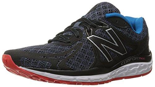 New Balance Mens 720v3 Comfort Ride Running Shoe, Negro/Gris, 49 EU/13.5 UK