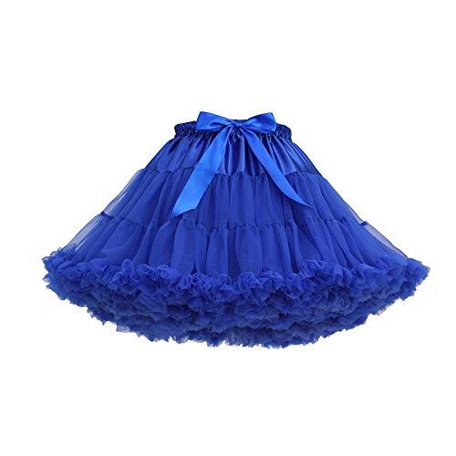 Rok Tule Mode Casual Zomer Blauw Tutu Kleur Vjgoal Dansen Feestje Mini Rokken Sexy Dames Ballet Effen xwvCEEtWqP