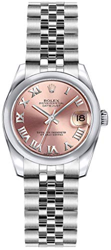 Rolex Lady-Datejust 26 179160 Pink Dial Womens Watch (Rolex Pink Gold)