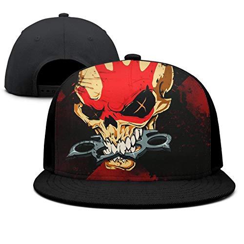 wasupyo Skull Tattoo Snapback Hats for Men Cool Baseball Cap]()