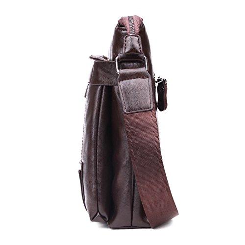 marrón para marrón hombre VICUNA marrón hombro al POLO Bolso WAHOqU0p