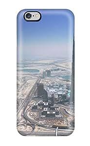 3520592K33799569 Iphone 6 Plus Case Slim [ultra Fit] Dubai City Protective Case Cover
