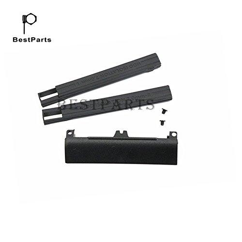 BestParts Hard Drive Caddy Cover + 7mm Isolation Rubber Rails for Dell Latitude E6330 E6430 E6530