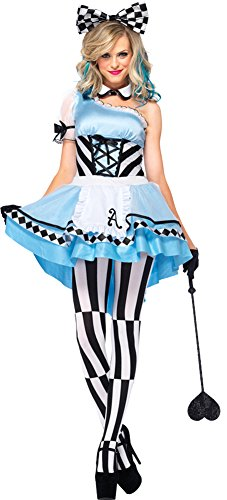 Psychedelic Alice Costume - Small - Dress Size (Psychedelic Alice Costumes)
