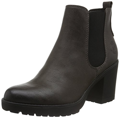 Marco Tozzi 254, Botas Chelsea para Mujer Gris (ANTHRAC.NUBUCK 248)