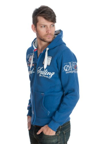 Geographical Norway - Sweatshirt Geographical Norway Fighter Blau