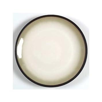 Sango Nova Black Dinnerware Salad Plates - Set of 4  sc 1 st  Amazon.com & Amazon.com: Sango Nova Black Dinnerware Salad Plates - Set of 4 ...
