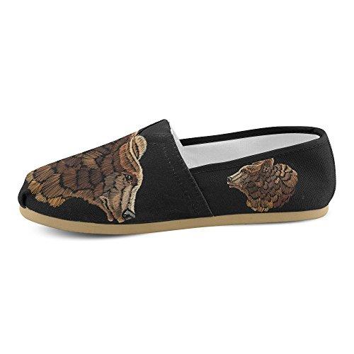 D-story Mode Sneakers Flats Klassieke Instappers Canvas Schoenen Loafers Multicoloured3