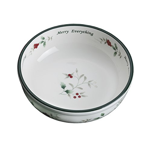 Pfaltzgraff Winterberry Hard Dolomite Candy Tidbit Dish Bowl (7-Inch)  - 5068734 (Collection Winterberry Tableware)